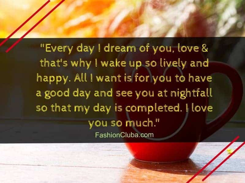 100 Cute Good Morning Paragraphs For Her To Wake Up To Fashion Cluba
