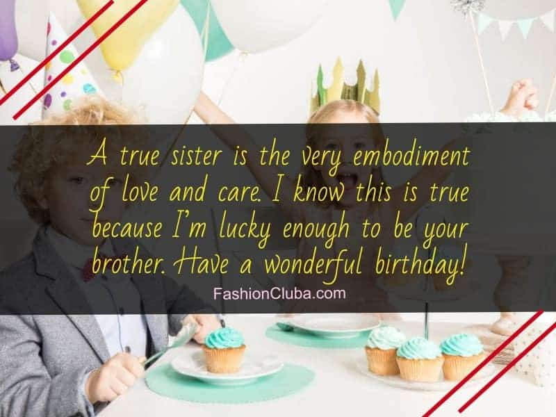 birthday quotes for little sister