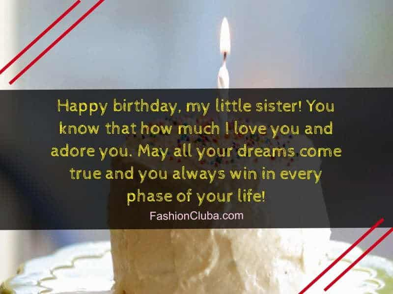 200+ Touchy Birthday Wishes & Quotes for Sister – Fashion