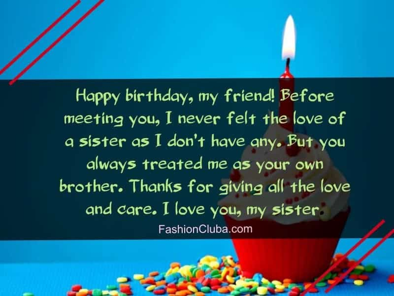 happy birthday wishes for sister that inspires you