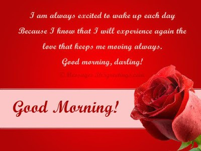 Romantic Good Morning Love Messages For Girlfriend / Wife (2)