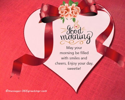 Romantic Good Morning Love Messages For Girlfriend / Wife (3)