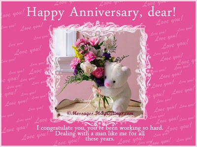 funny anniversary dear! quotes for husband