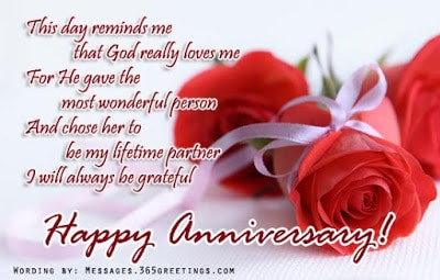 Wedding anniversary messages from husband to wife