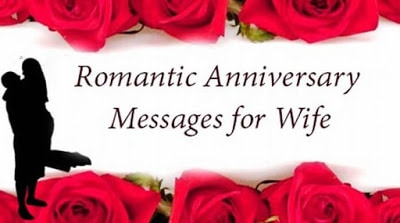 romantic anniversary messages to wish your wife