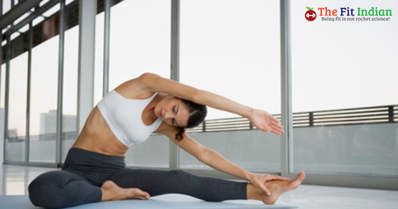 yoga for toned skin