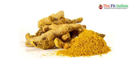 Turmeric for belly button infection