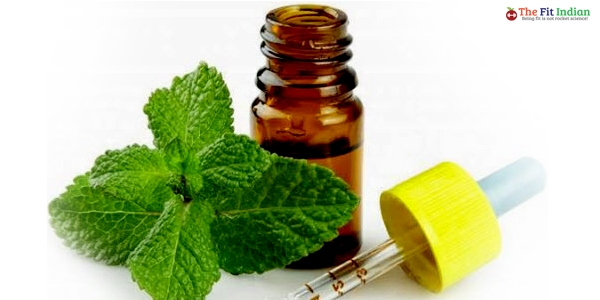 peppermint-oil for belly button infection