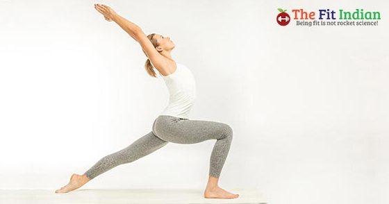 Vinyasa yoga sequence