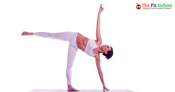 The Half-Moon Pose - Vinyasa Yoga