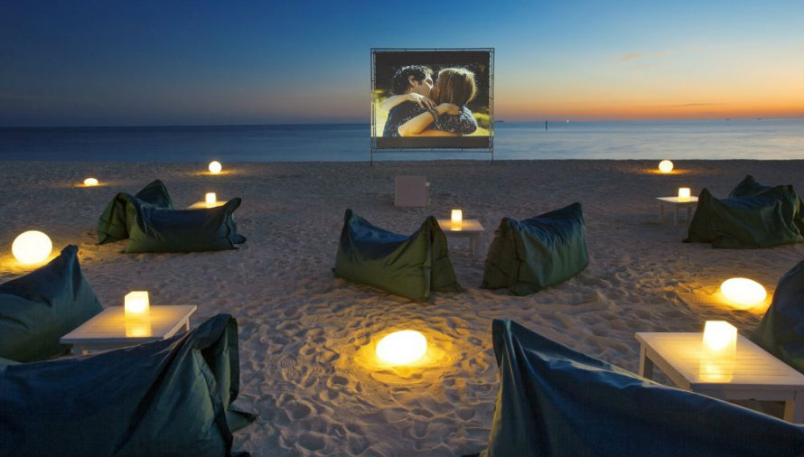 Open-Air Movie Theatre