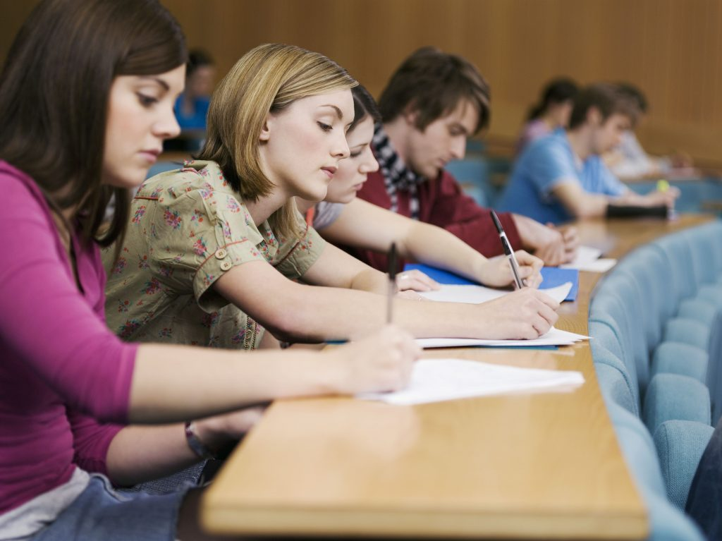 exam class room