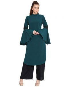 Kurti with Bell Sleeves
