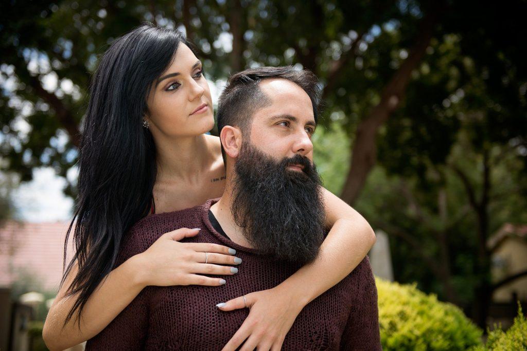 The full Monty beard